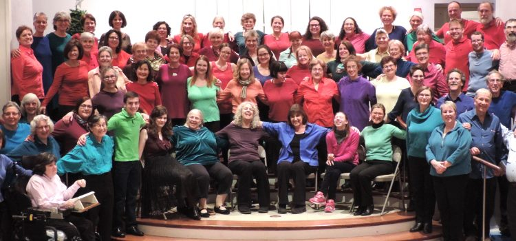 Greater Boston Intergenerational Chorus Spring Concerts!