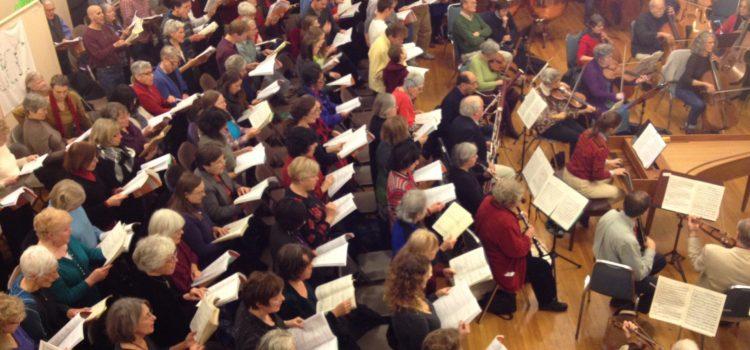 """Belmont Open Sings: Handel's """"Utrecht Te Deum and Jubilate"""""""