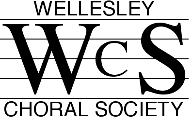 Wellesley Choral Society Open Rehearsals: Monday Jan 27, Feb 3, and Feb 10, 7:30-9:30 PM